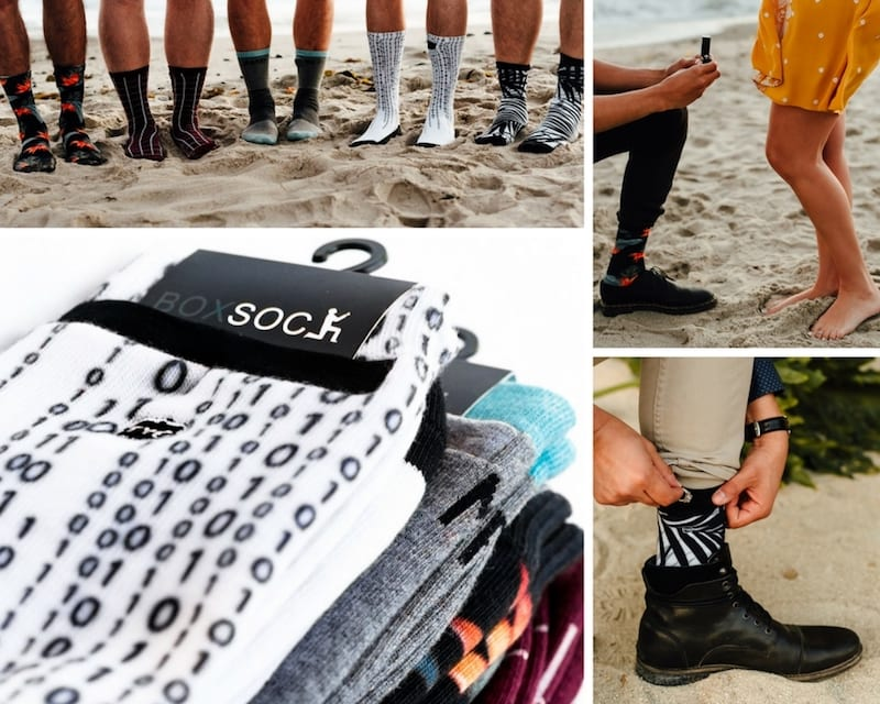 pocket sock by The Yes Girls Events