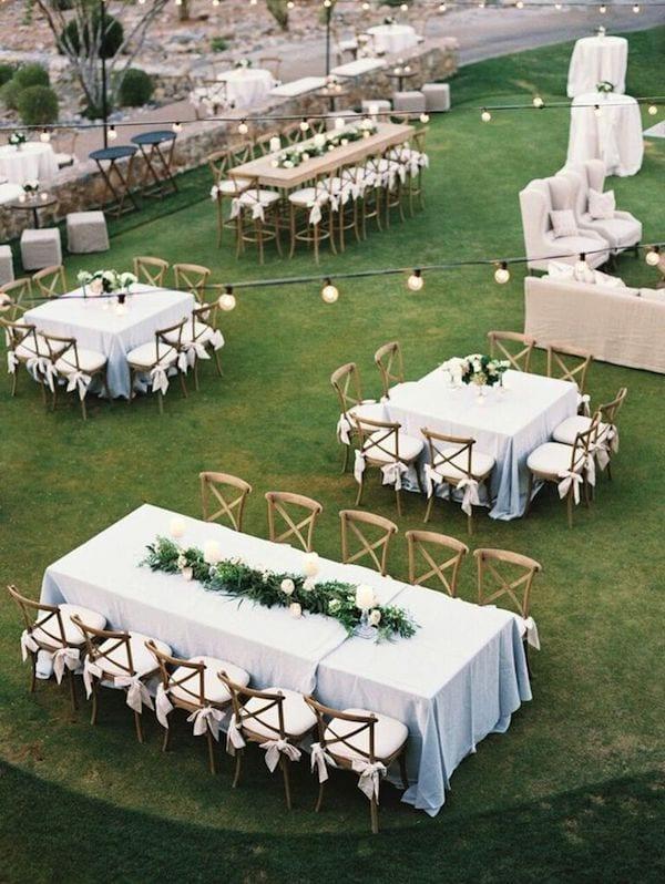 soft romantic tables capes