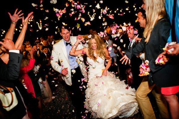 traditional wedding send off ideas