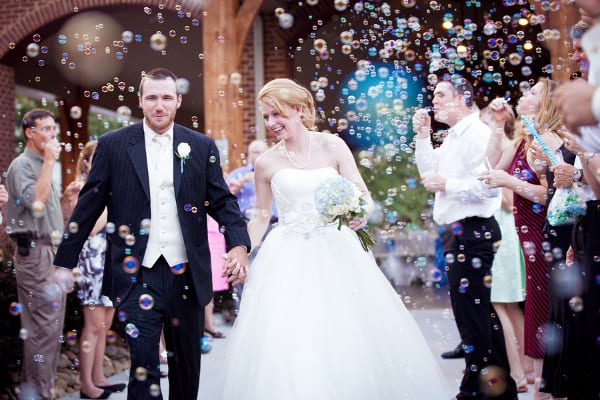5 gorgeous wedding send offs the yes girls