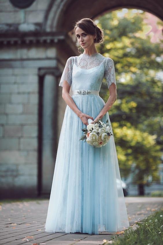 "bridal ""something blue"""