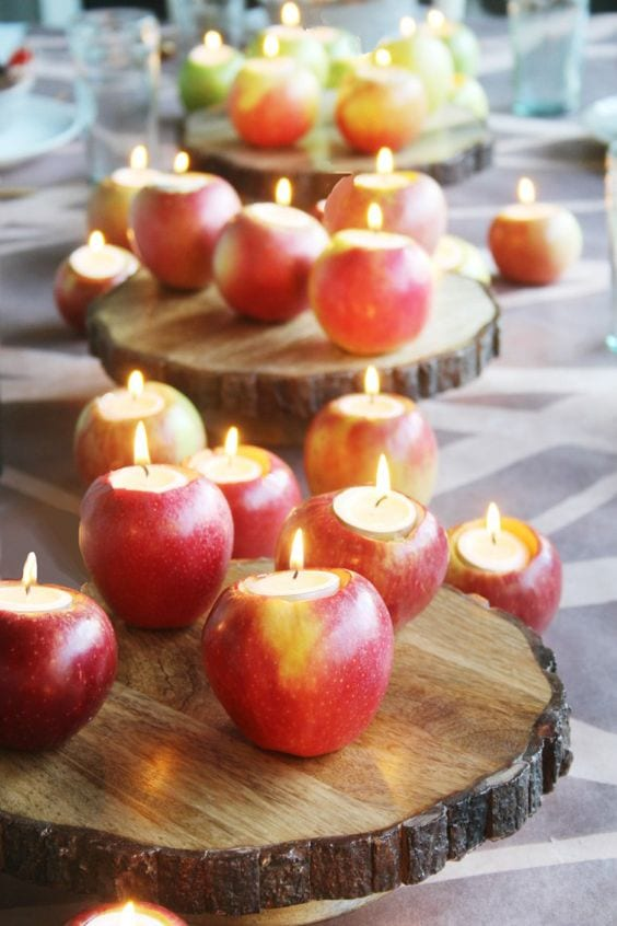 Apples In Your Autumn Wedding The Yes Girls