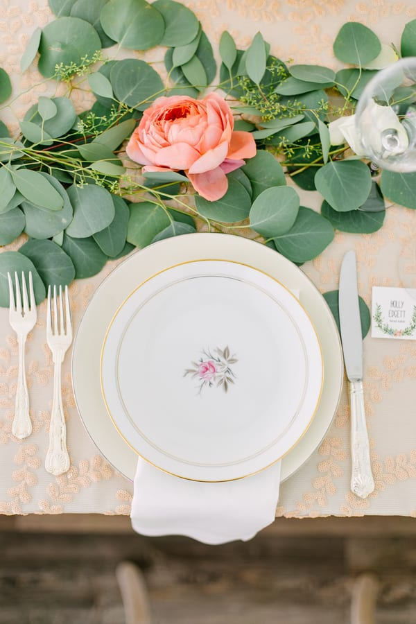 tablescape for fall wedding