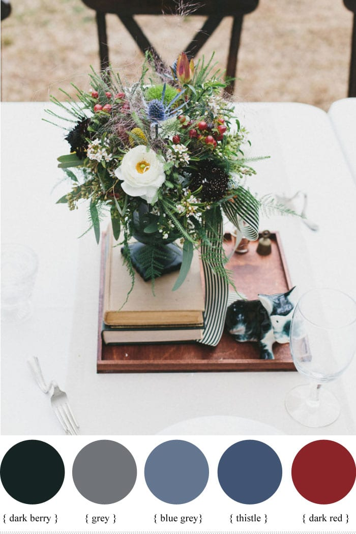 Autumn Flower Bouquets with Berries | The Yes Girls