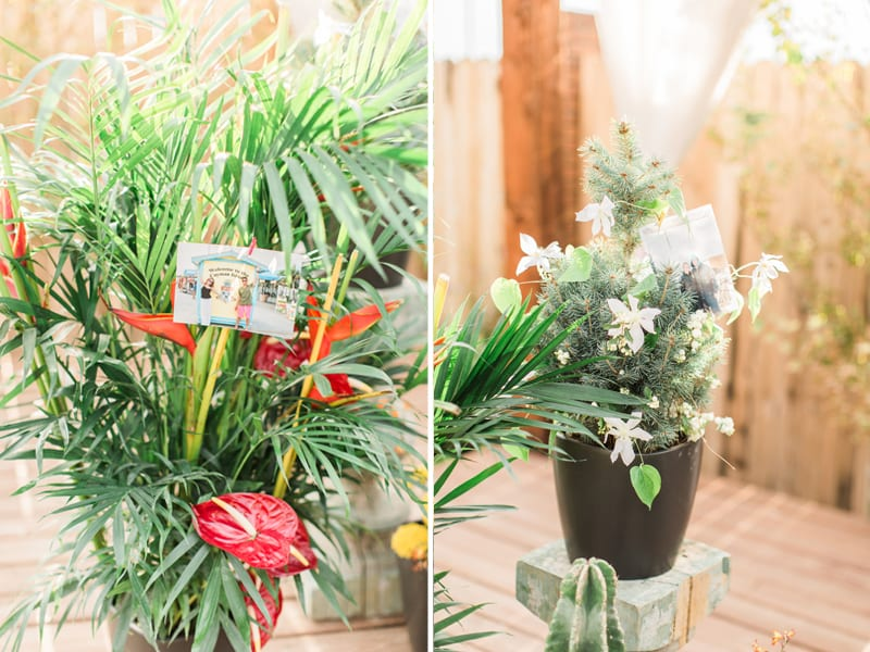flower proposal decor