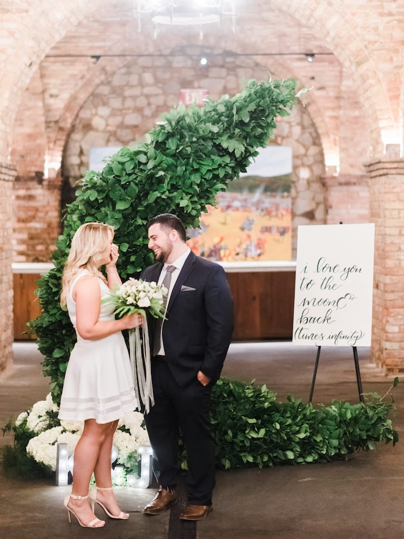 castello di amorosa winery engagement photos for marriage proposal