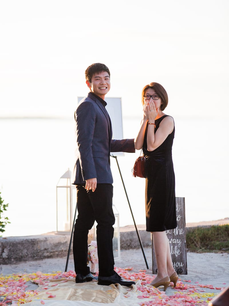 fashionista marriage proposal in Florida
