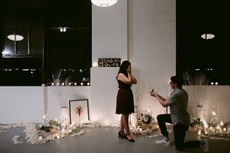 indoor proposal locations San Francisco