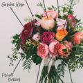berry pinks bridal bouquet breakdown