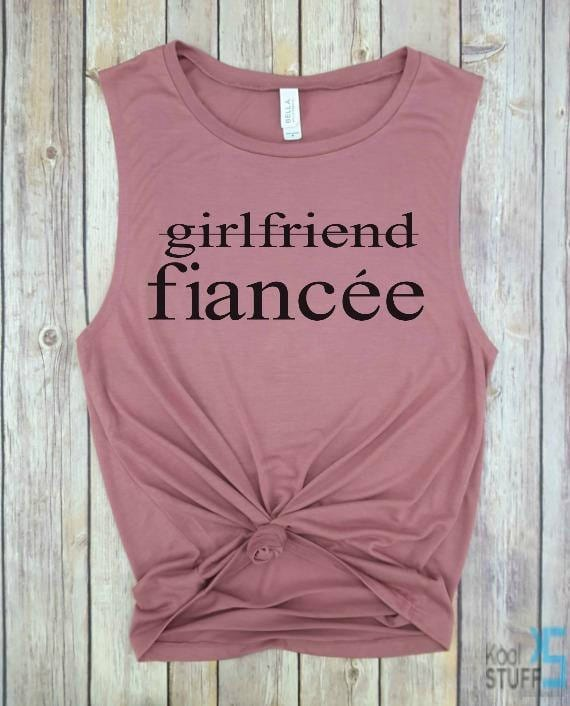 shirt for newly engaged gal