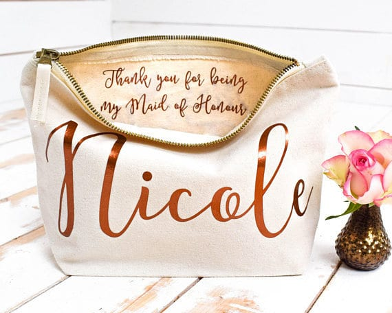 gifts for bridesmaids 2018