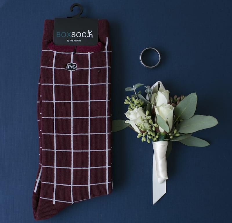 pocket sock for groomsmen
