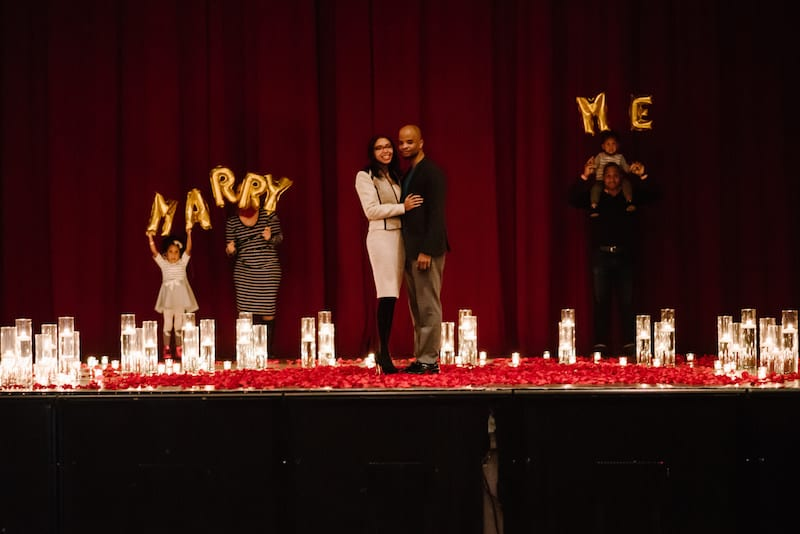 Fillmore theater marriage proposal