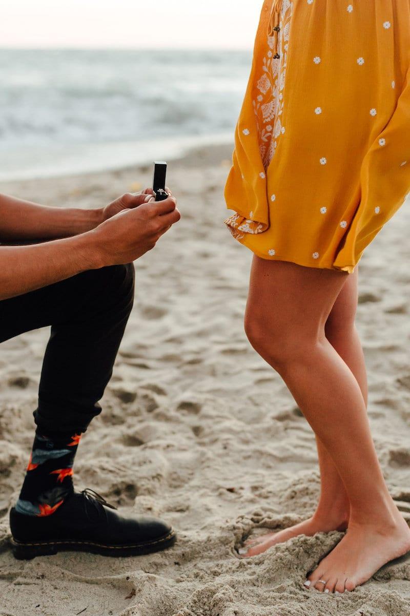 pocket sock for proposal