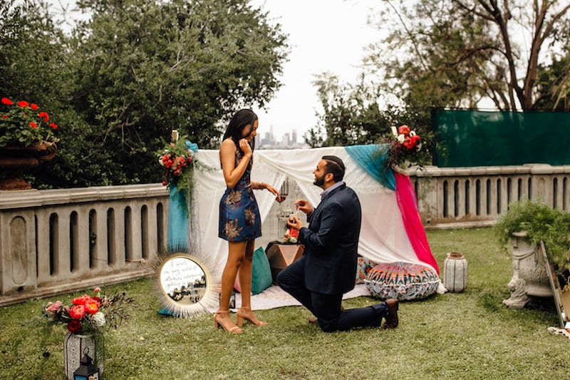 los angeles proposal pics