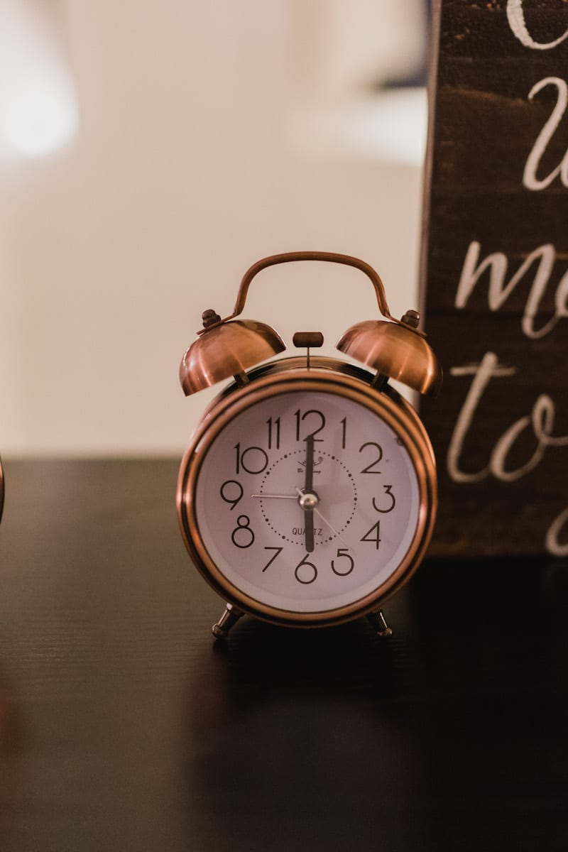 alarm clock proposal