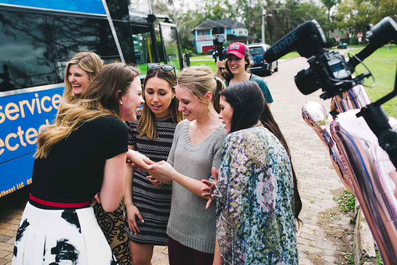 proposal giveaway from megabus
