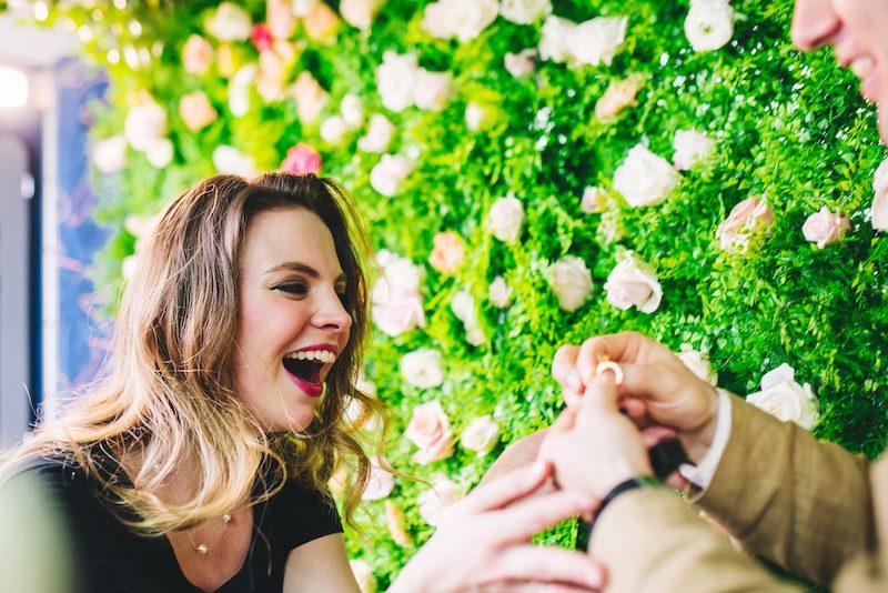 megabus wedding engagement