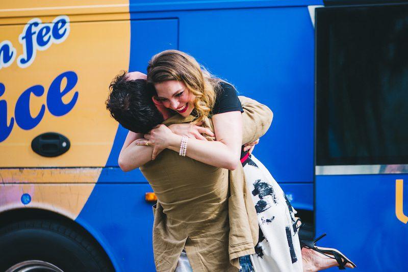 engagement with megabus