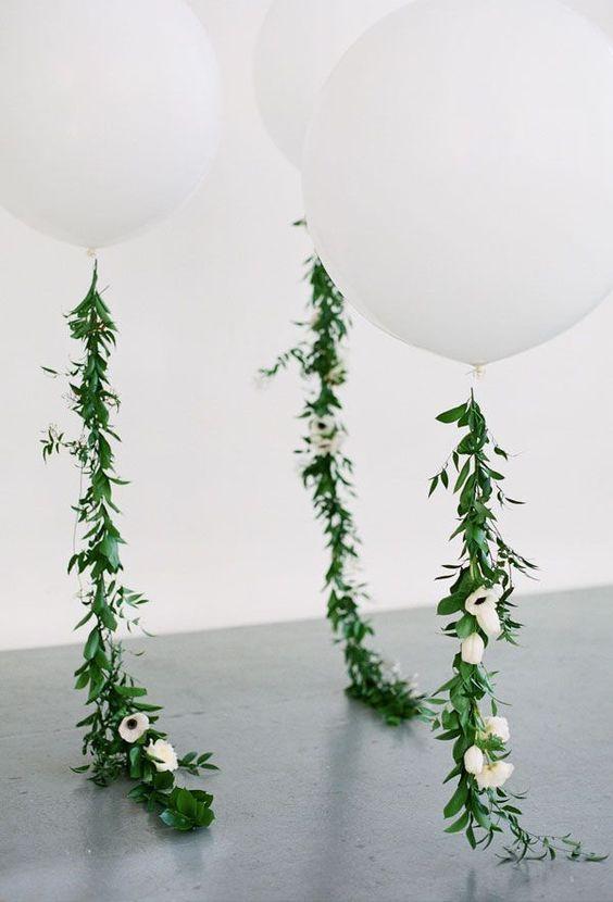 white on white event decor