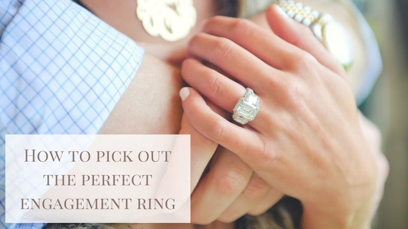 engagement ring shopping tips