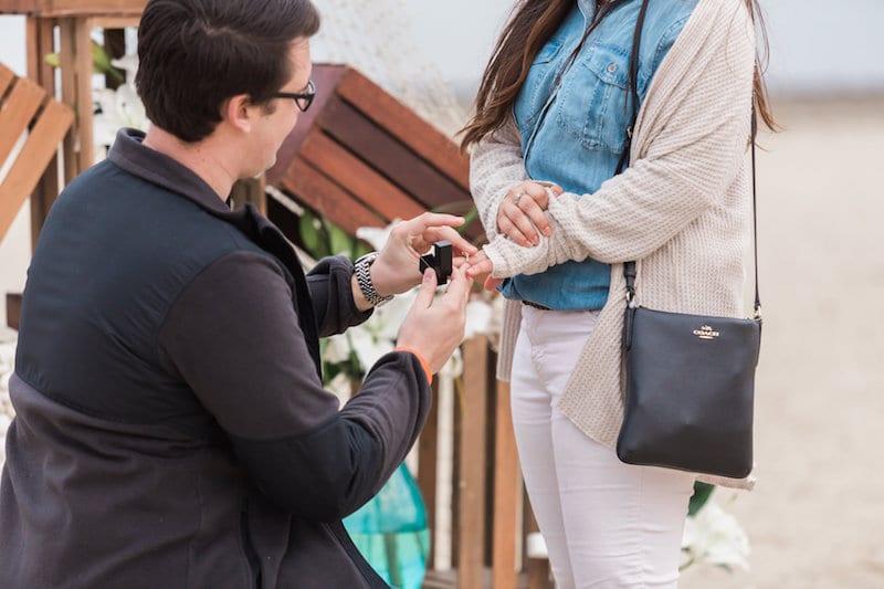 slim proposal ring box
