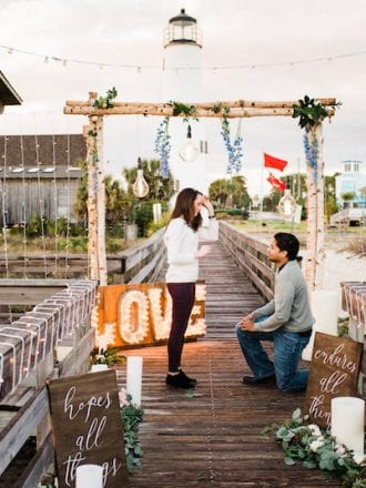 florida light-house engagement