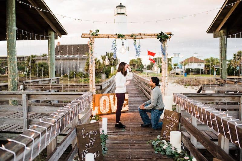 florida light-house engagement