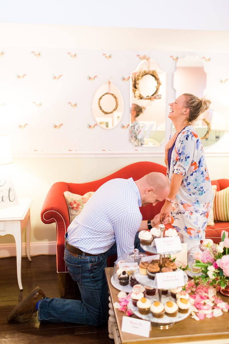 marriage proposal joy bride-to-be