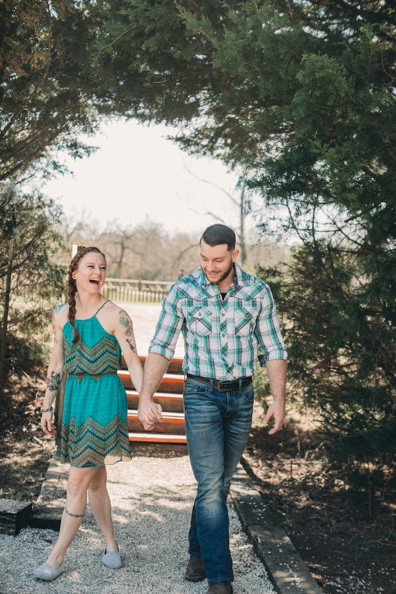 engagement at winery in dfw