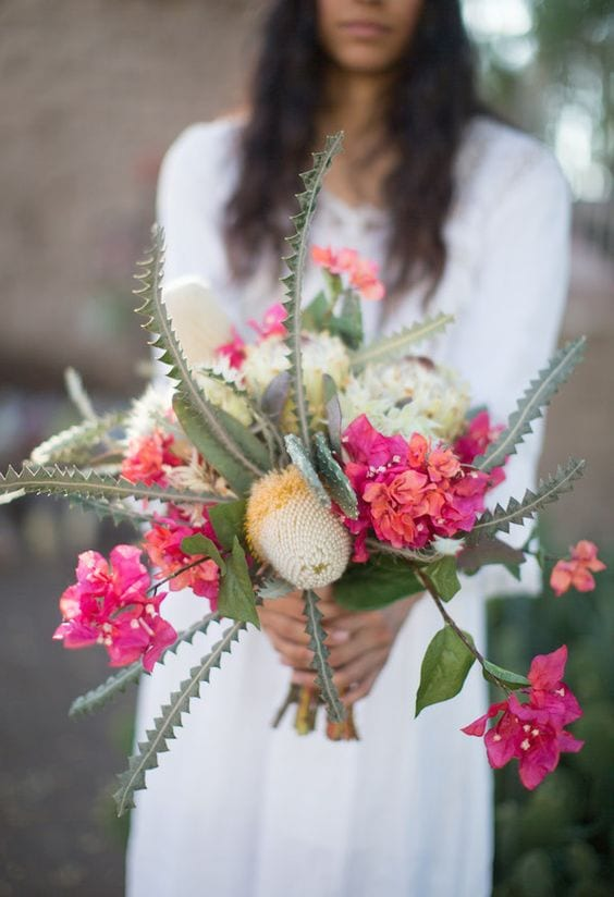 cactus wedding proposal decorations