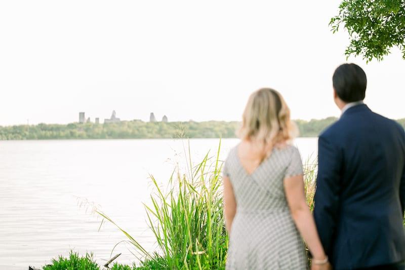 engagement at white rock lake