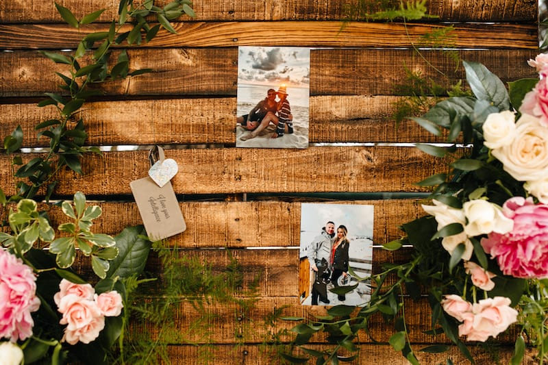 wooden rustic wall rental la
