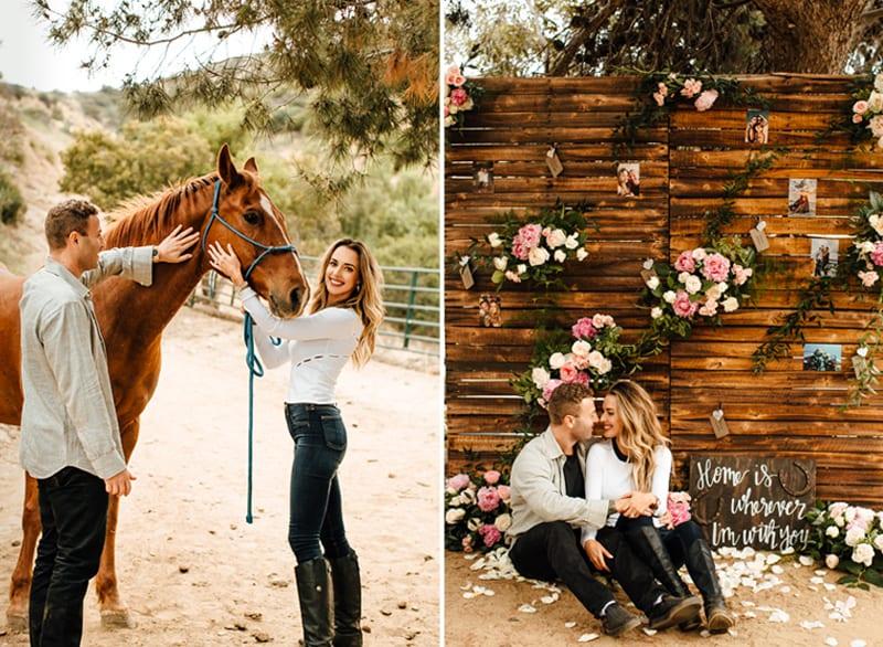 los ángeles private horseback ride proposal