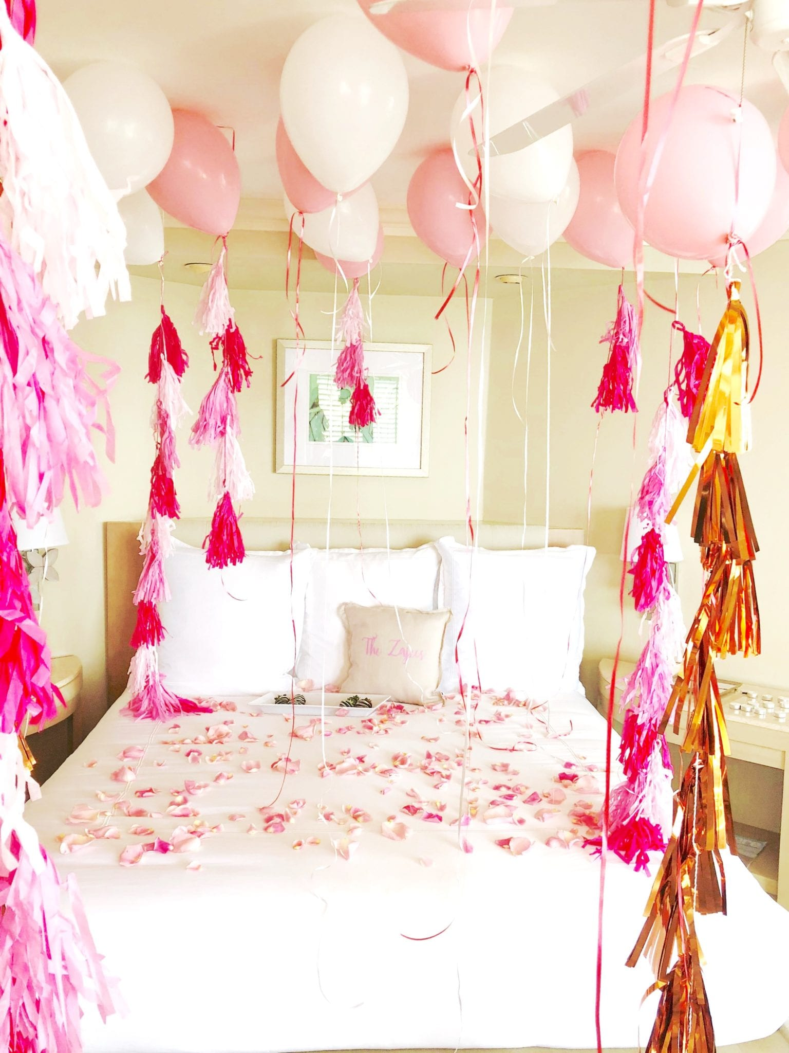 Order: Special Occasion Hotel Room Decorating Package