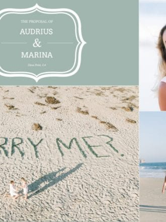 beach proposal in orange county