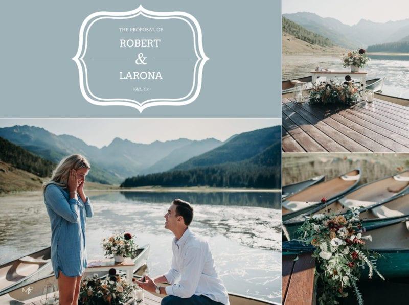 Proposal in Vail, Colorado