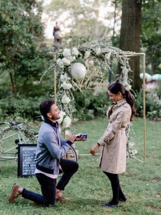 Travel proposal in Central Park