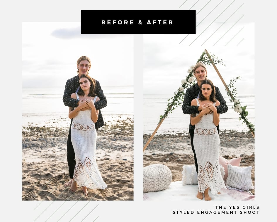 Styled Shoots for Orange County Photographers | Engagement Styled Shoots