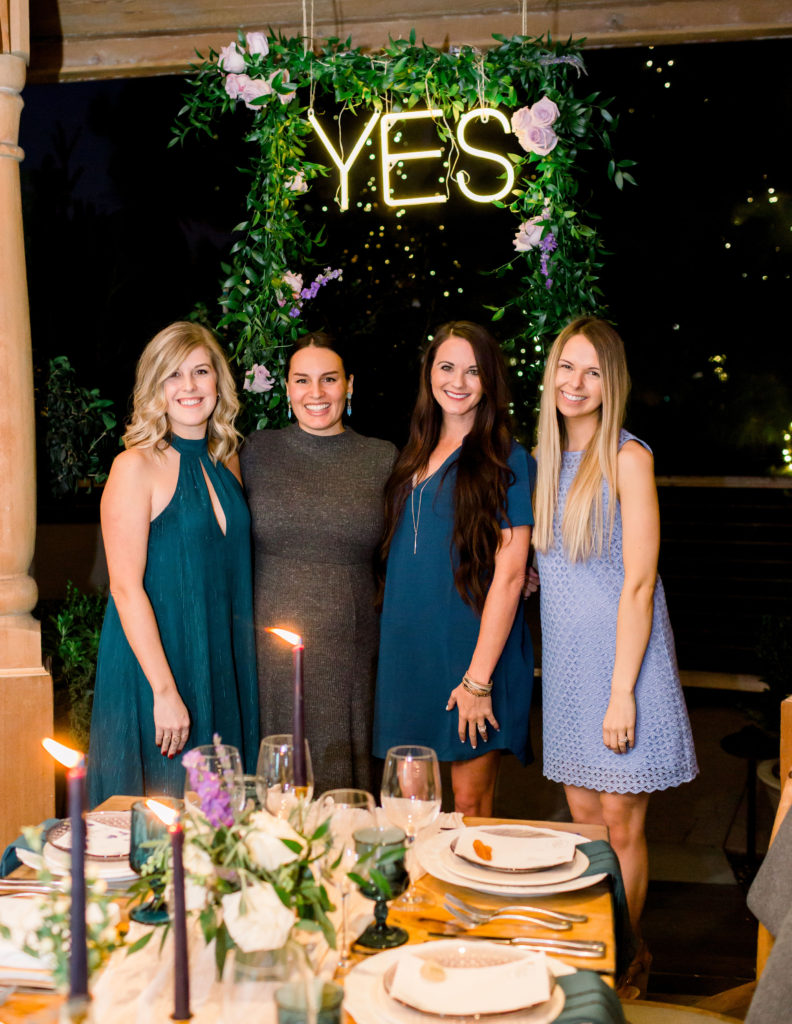 The Yes Girls dinner at Rogers Gardens
