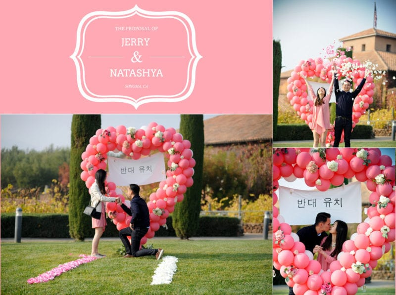 perfect marriage proposal ideas in napa