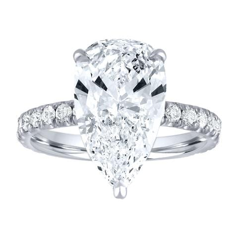 """509941b3d8b9b7 Finally, you'll tell us your timeline so that your custom piece is finished  before it's needed."""" Mariah Engagement Ring"""