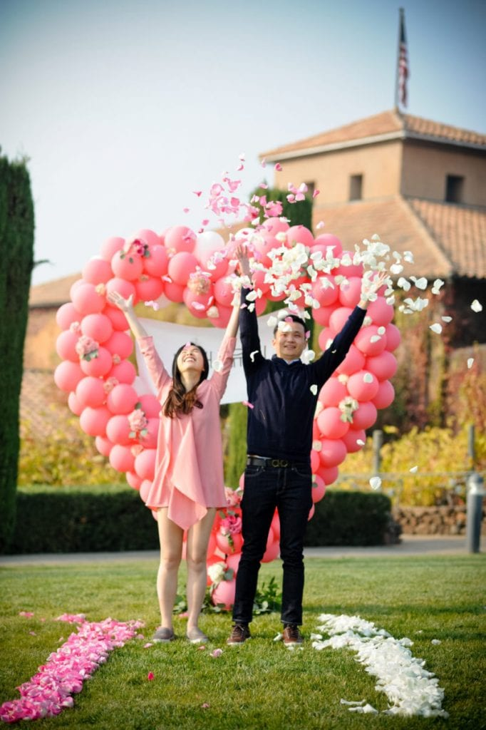 Viansa Winery Wedding Proposal in Sonoma