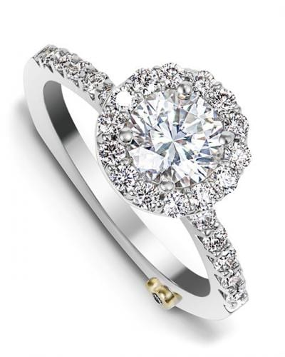5539f2d11 Sentiment Traditional Engagement Ring