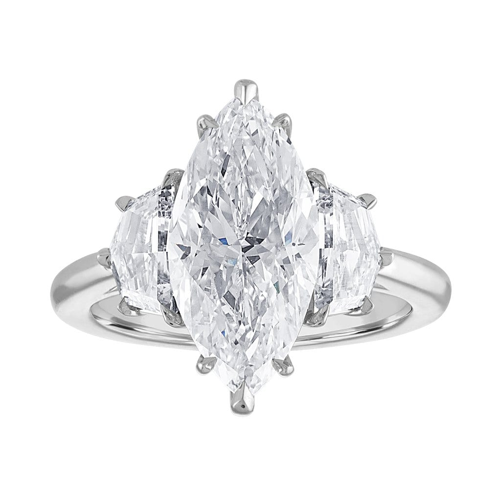 """2b92804b4 Each element of the ring can be customized to fit your exact requirements  for design, shape, and metal color."""""""