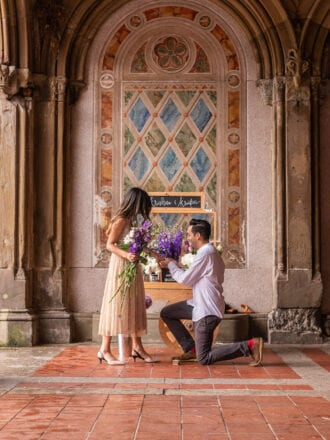 where to proposal in nyc - the yes girls