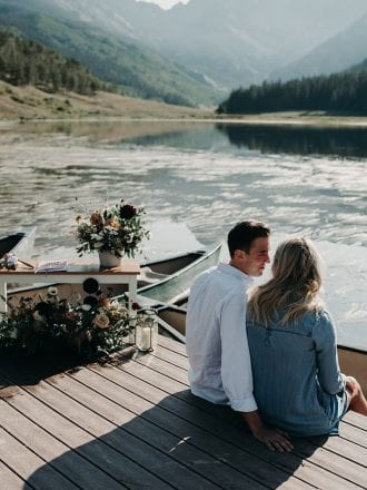 wedding proposal in vail co