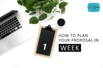 how to plan your proposal in one week webinar