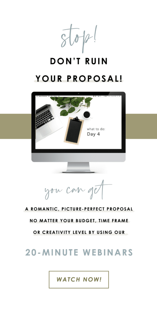 the yes girls wedding proposal how to webinars