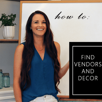 where to find vendors and decorations for wedding proposal